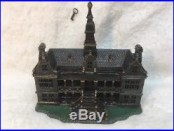 Ives Cast Iron Palace Bank 1885 With Key