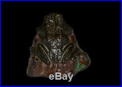 J. & E. Stevens Toad on Stump Cast Iron Mechanical Bank