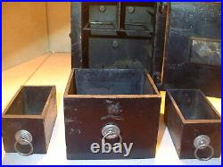 Large RARE Kyser & Rex Cast Iron Security Safe & Deposit Still Bank