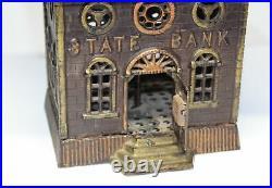 Largest Kenton Cast Iron State Bank