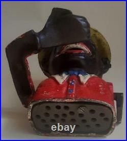 Little Moe cast iron bank Joe