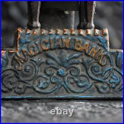 Magician mechanical bank