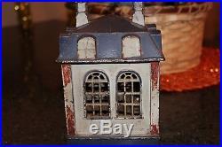 Novelty Bank Cast Iron Mechanical Bank J & E Stevens, Circa 1872 To Restore