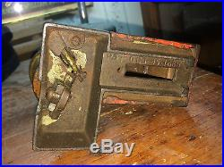 Original Cast Iron Santa Claus Clause Pat Oct 15 1889 Mechanical Bank Toy