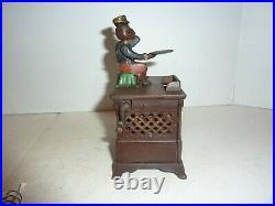 Organ Bank Mechanical Bank Cast Iron
