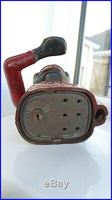 Original Antique Cast Iron Mechanical Money Box jolly Bank Rare Bamboula