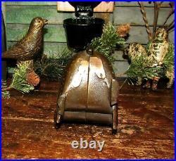 Original Antique Vtg 1912 A C Williams Large Turkey Cast Iron Still Penny Bank