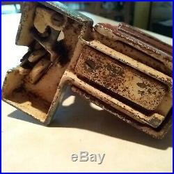 Original Cast Iron SANTA CLAUS Mechanical Bank by Shepard Hardware Co. C 1889