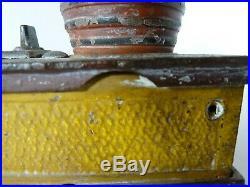 Original Cast Iron Trick Dog Mechanical Bank 1888 Antique