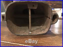 Original Cast Iron Vintage Jolly Negro Antique Mechanical Bank Black Americana
