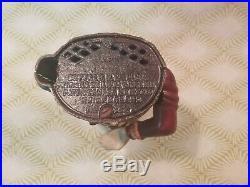 Original Humpty Dumpty Cast Iron Bank. Shepard Hardware Circa 1880's