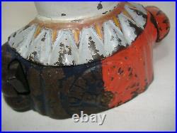 Original Humpty Dumpty Cast Iron Mechanical Bank Shepard Hardware 1880's patents