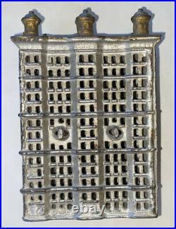 Original cast iron Six Post Skyscraper still bank 1900 1909