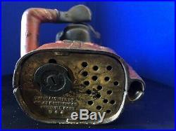 RARE Black Americana Cast Iron Jolly N Mechanical Bank J & E Stevens 1882