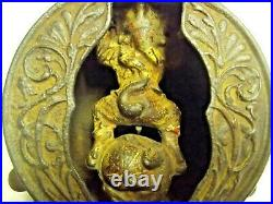 RARE Original Cast Iron Cat and Mouse Mechanical Bank 1891 J & E Stevens