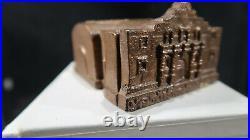 R Alamo Iron Works Machinery Iron & Steel San Antonio Texas Still Cast Iron Bank