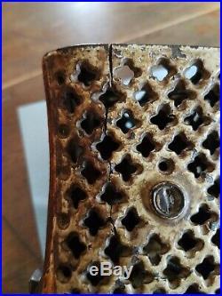 Rare Antique 1873 Tammany Cast Iron Mechanical Bank Orig J & E Stevens