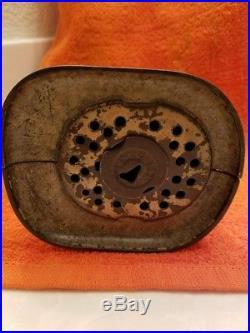 Rare Antique J. & E. Stevens General Butler Cast Iron Still Bank Circa 1878