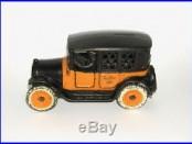 Rare Arcade Yellow Cab Taxi Cast Iron Bank 1925 NO RESERVE (DAKOTApaul)