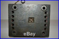 Rare Stump Speaker Cast Iron Mechanical Bank, As Found Original, No Reserve