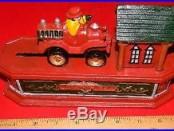 Reproduction Cast Iron Fireman Mechanical Bank