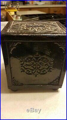 Royal Safe Deposit Cast Iron Bank Safe
