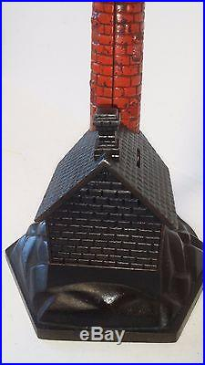 SCARCE Antique Cast Iron LIGHTHOUSE BANK made in US c1891 Books 4 $4000 #1115