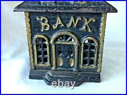 SUPER Cast Iron BUILDING Still Bank BANK Possibly KENTON or WILLIAMS