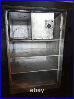 Sargent & Greenleaf Bank Safe Cast Iron antique fireproof