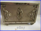 Savings Chest (Antique Cast Iron Still Bank)