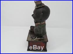 Shepard Hardware Stump Speaker Cast Iron Mechanical Bank Patented June 8th 1886