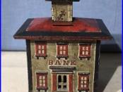 Stevens Cast Iron Cupola Still Bank / Large Size
