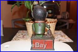 Stump Speaker Cast Iron Mechanical Bank Shepard Hardware, Circa 1886
