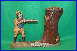 Teddy and the Bear, Cast Iron Bank