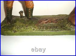 Teedy and the Bear cast iron mechanical bank