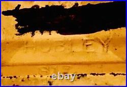 VINTAGE HUBLEY PORKY PIG CAST IRON STILL BANK 5 3/4 Tall