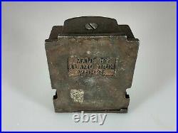 Very Rare Vintage Cast Iron Alamo Iron Works Souvenir Bank Building