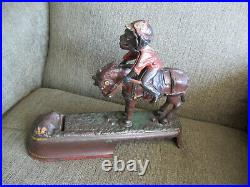 Vintage Always DID Spise A Mule Cast Iron Mechanical Bank Patent Date 1879