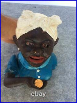 Vintage American Cast Iron, Mechanical Bank, WORKS GREAT