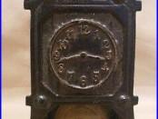 Vintage Arcade Cast Iron Hall Clock Still Bank NR