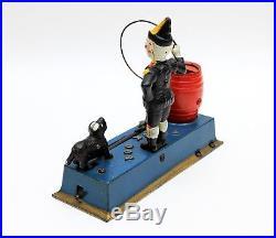Vintage Hubley Original Trick Dog Cast Iron Coin Bank 1920's