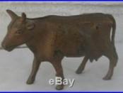 Wonderful Authentic Antique Cast Iron Cow Bank