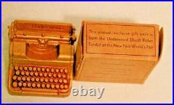 Worlds Fair 1939 Underwood Typewriter Bank in original box